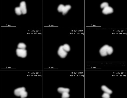 Bild: ESA / Rosetta / MPS for OSIRIS Team MPS / UPD / LAM / IAA / SSO / INTA / UPM / DASP / IDA